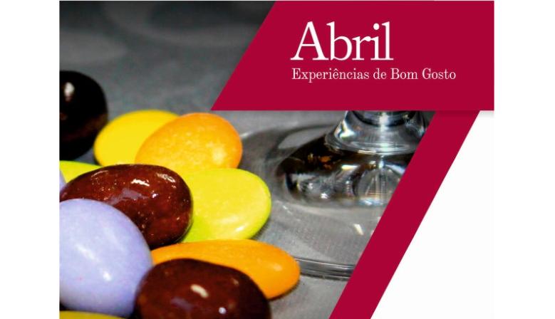 Degustações de Abril