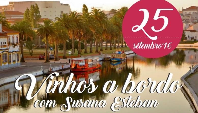 Vinhos a Bordo com Susana Esteban